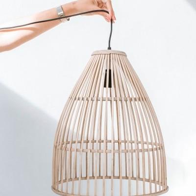Candeeiro Gota Bambu