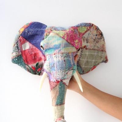 Elefante Patchwork Colorido IV