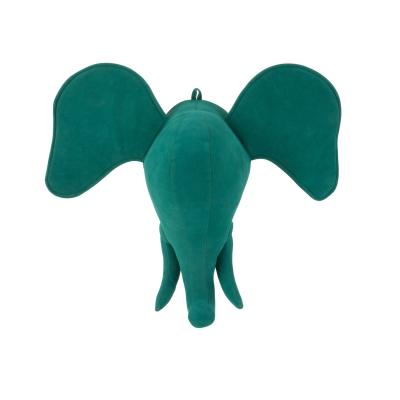 Cabeça Elefante Azul KIDS