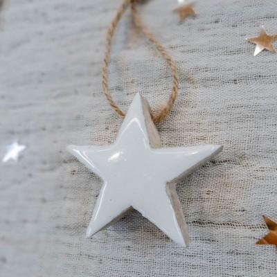 Ornamento Estrela - Pack 2