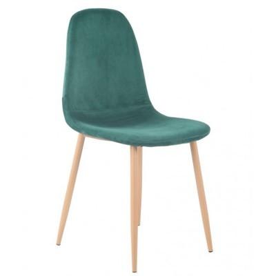 Cadeira Velvet Esmeralda