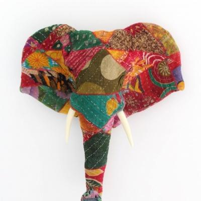 Elefante Patchwork Colorido V