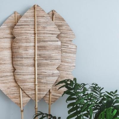 Folha Bananeira Bambu