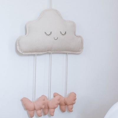 Pendente Nuvem Rosa
