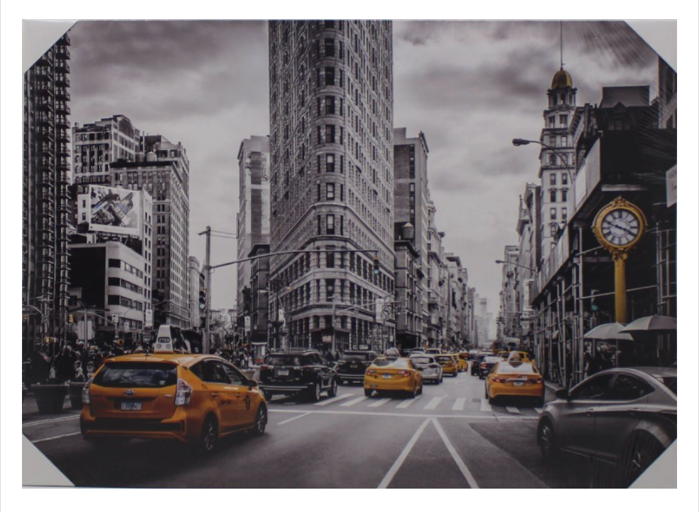 Tela Decorativa - NYC-T