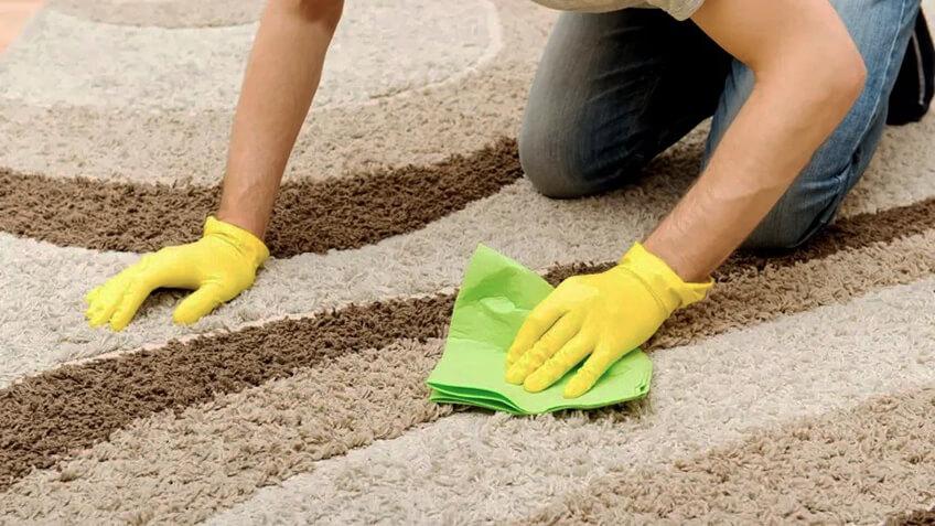 Como limpar tapete a seco