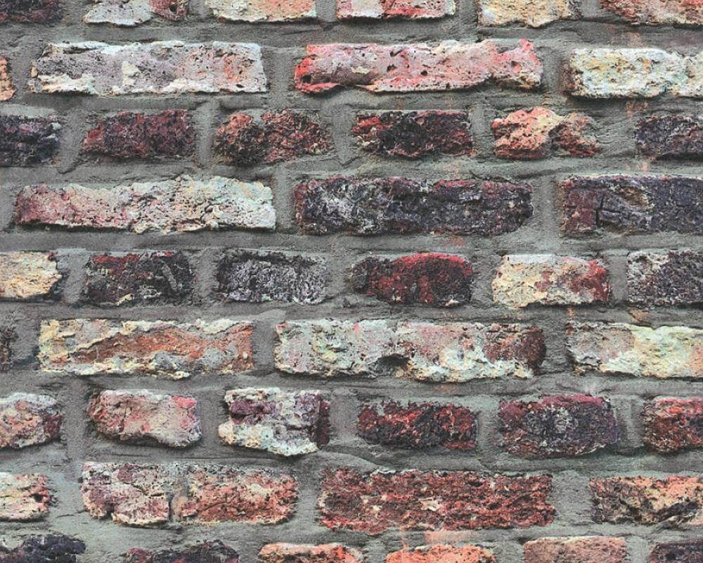 Papel de Parede Estilo Pedra, Casa de Campo, Bege, castanho, Cinzento, Taupe