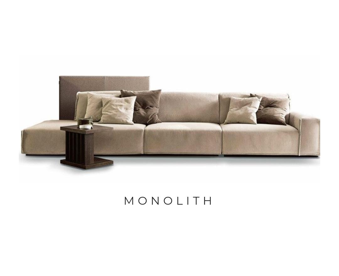 Sofá MONOLITH ©️ Ditre Itália