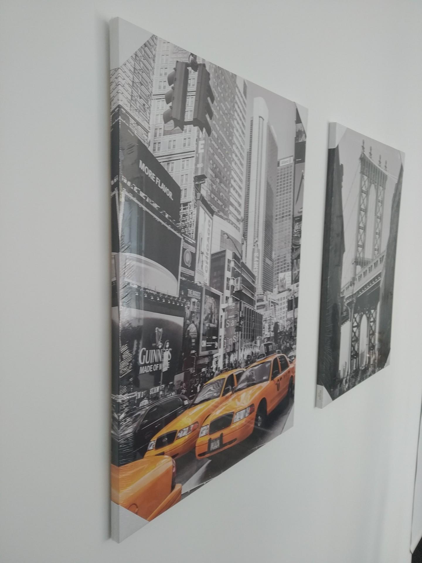Tela Decorativa - NYC