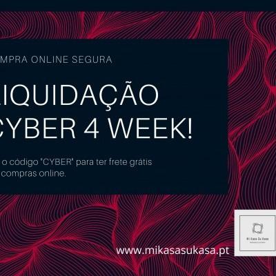 "Liquidação ""Cyber 4 Week"""