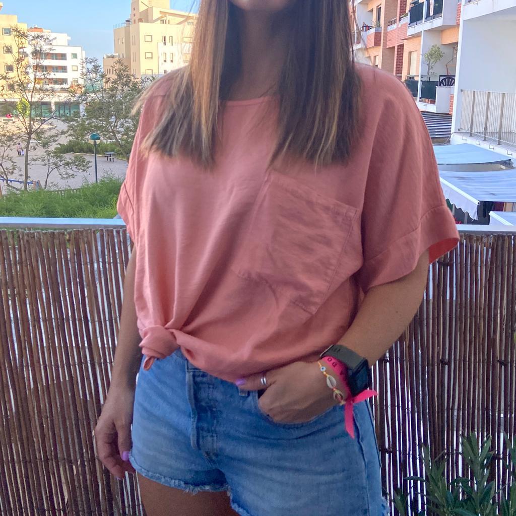T-Shirt Bolso XL   Morango