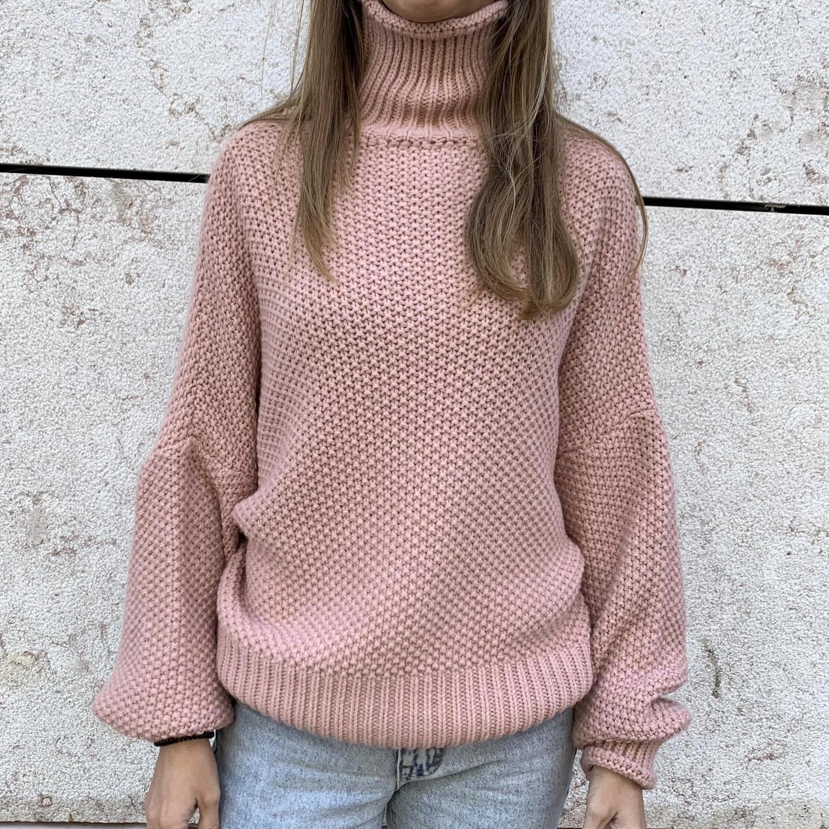 Camisolão | Rosa Claro
