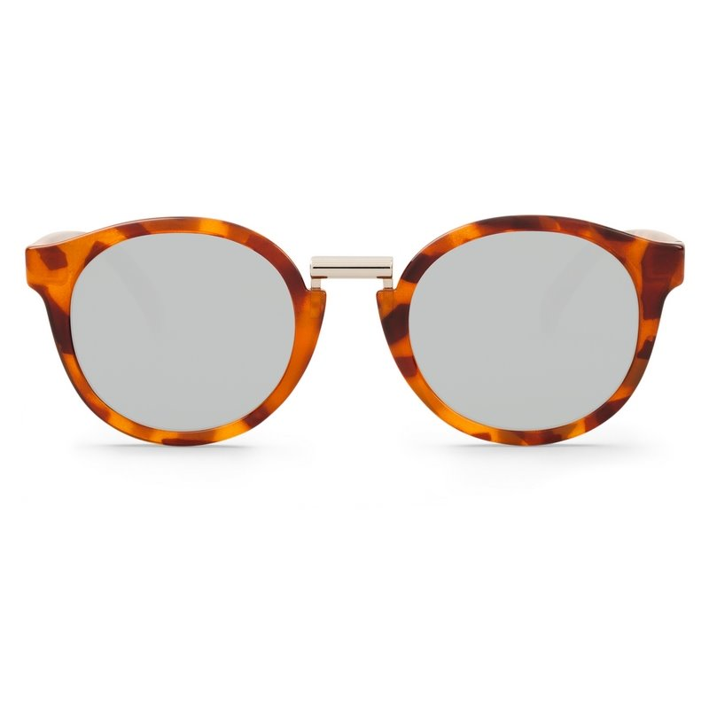 FITZROY | LEO TORTOISE with silver lenses