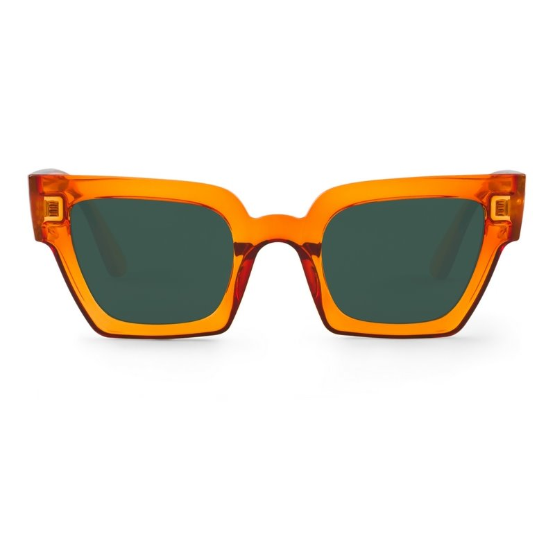 FRELARD | TRANSPARENT ORANGE with classical lenses