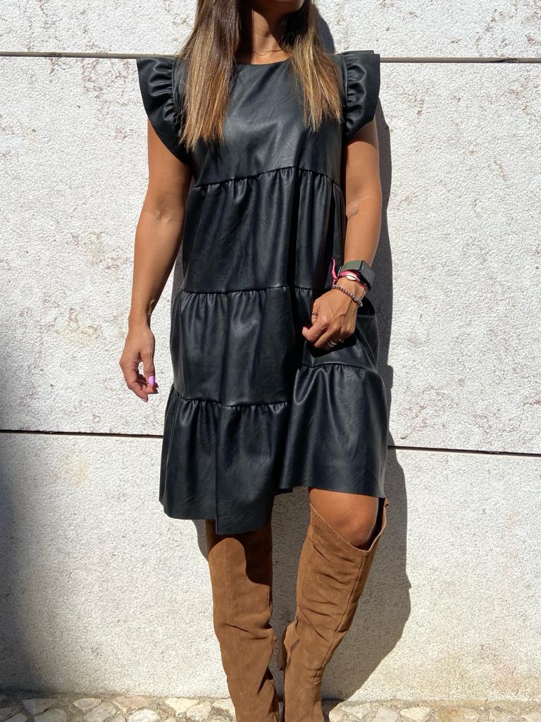 Vestido Napa Preto