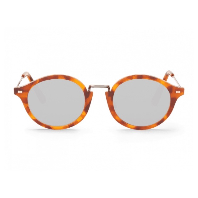 LEO TORTOISE NORREBRO WITH SILVER LENSES