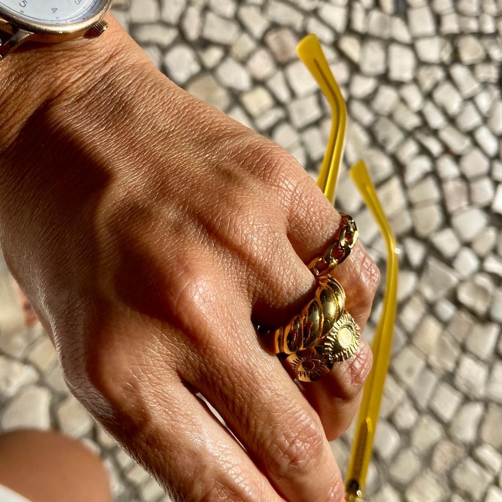 Anel Florença | Dourado