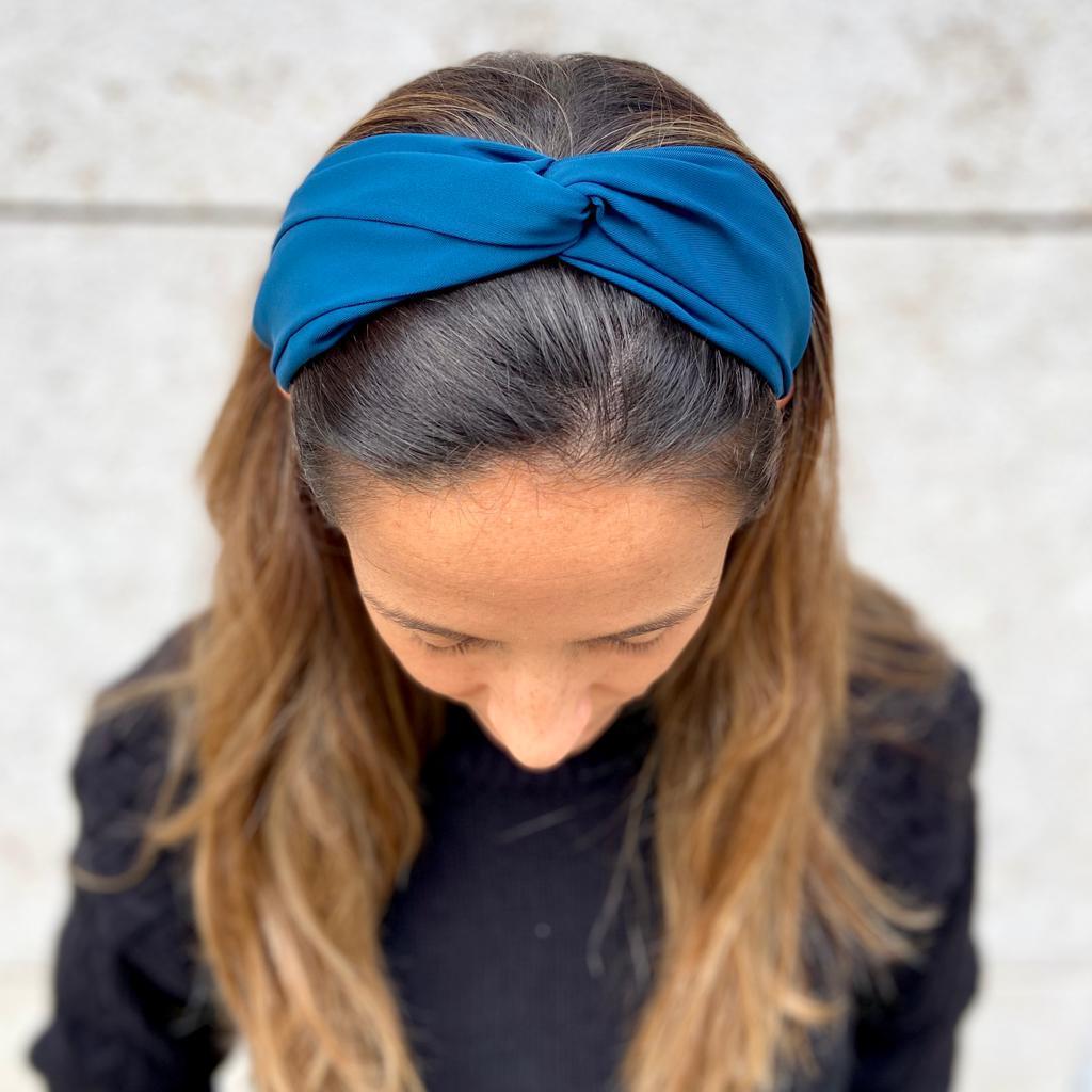 Bandolete Cruzada | Azul