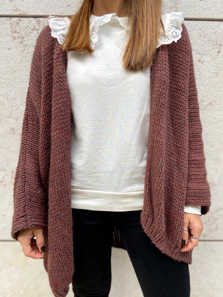 Casaco Oversized | Bordeaux