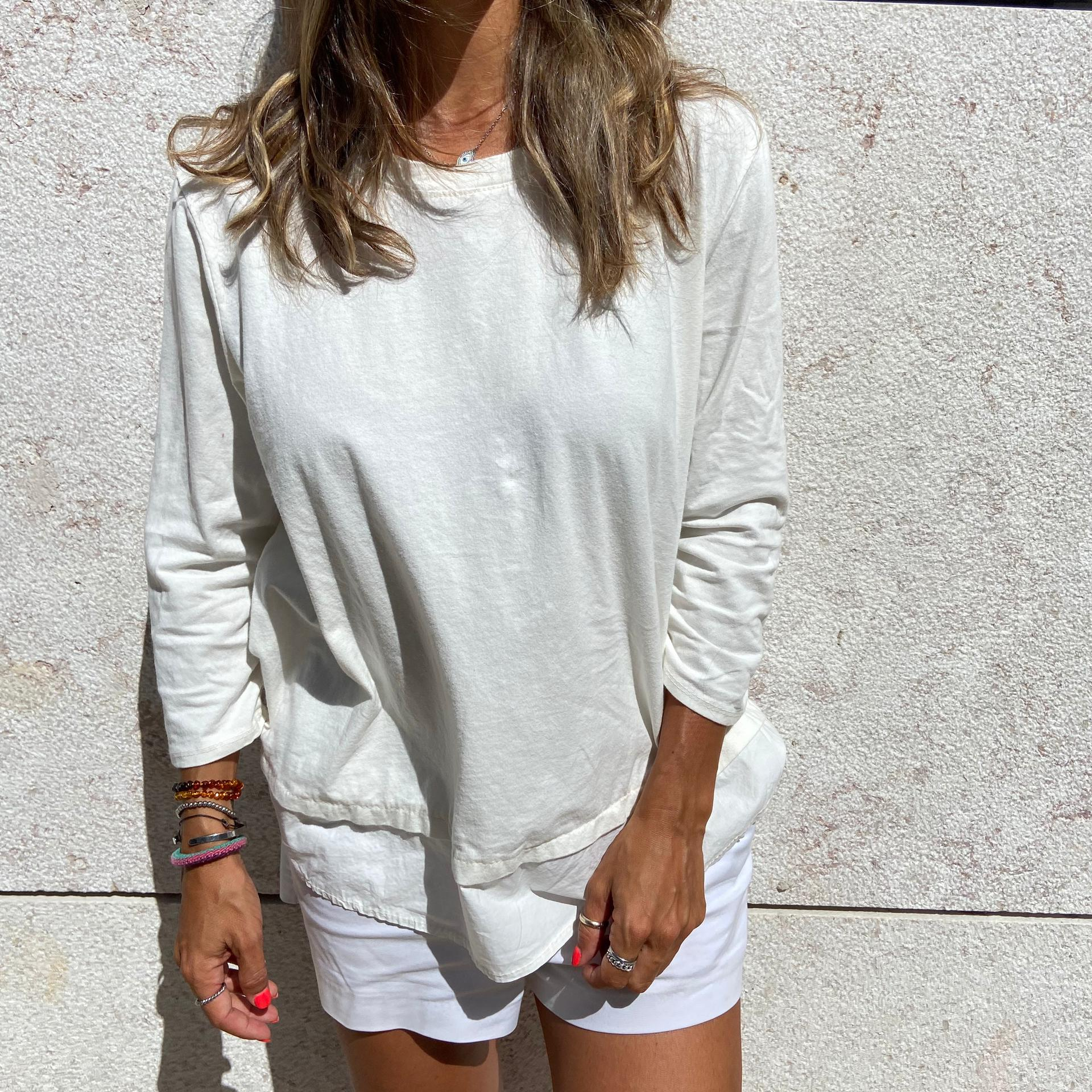 Top Curto Fall Collection   Branco