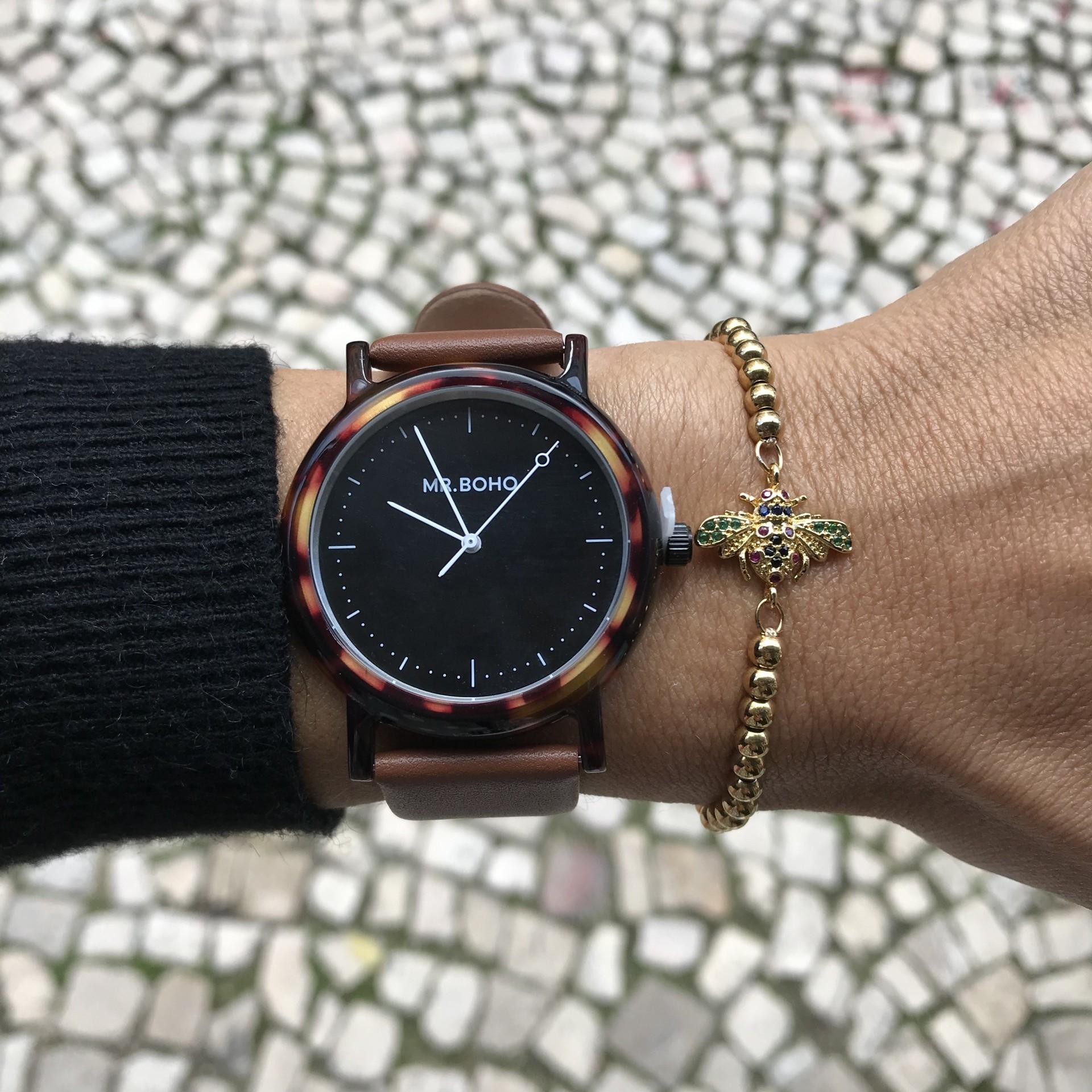 Pulseiras Brilho | Abelha