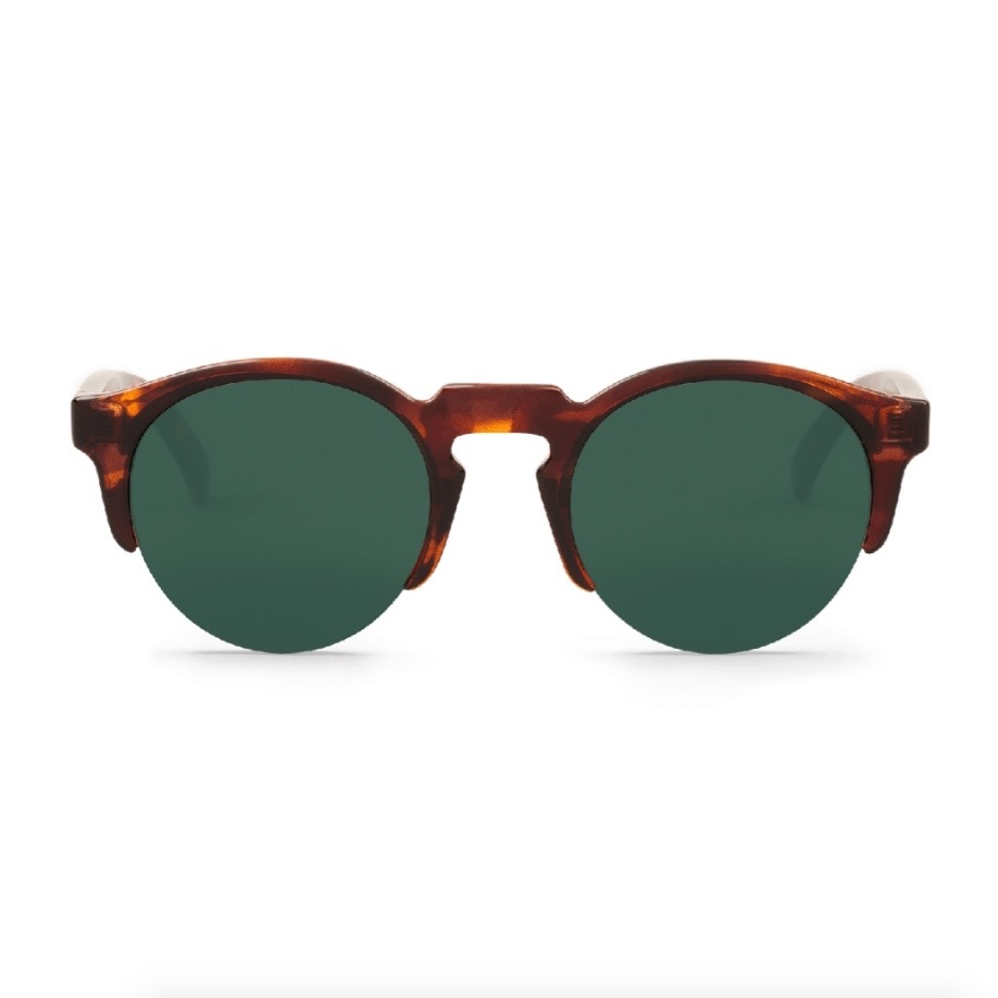 BORN | VINTAGE TORTOISE with sky blue lenses