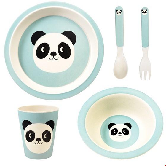 Set 5 peças Bambu PANDA