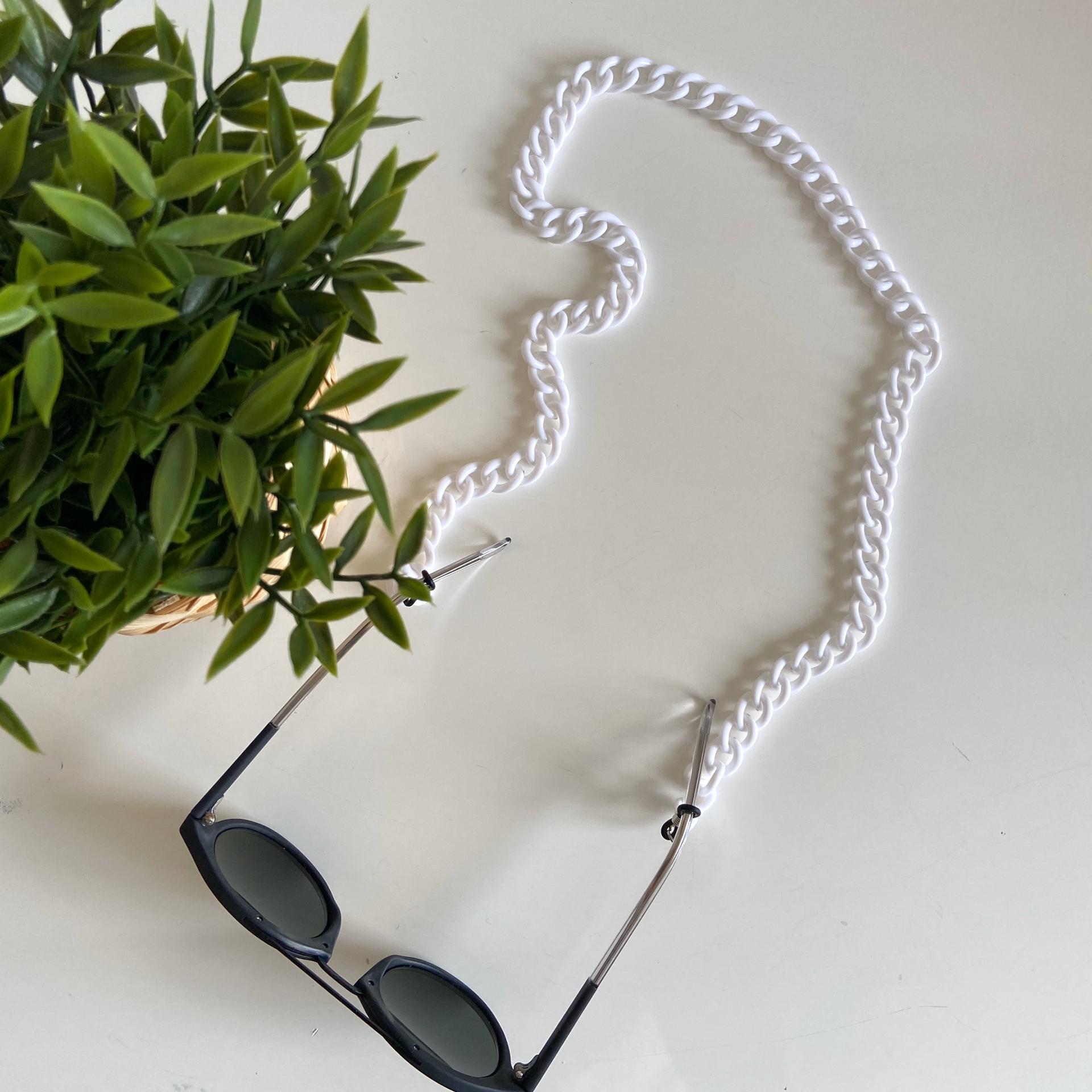 Corrente Óculos | Branco