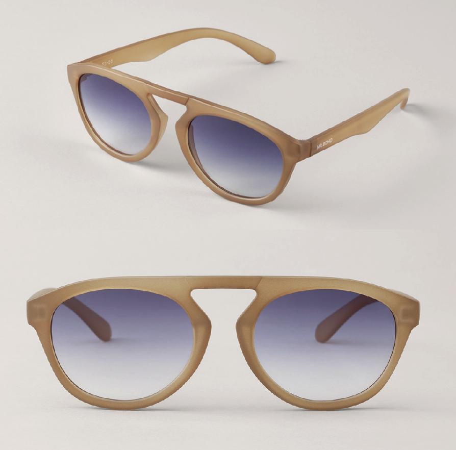 Matte Olive Wynwood with Gradient Blue Lenses