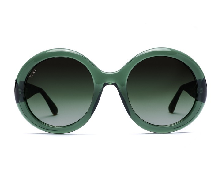 LISSA | CRISTAL GREEN WITH GREEN LENSES