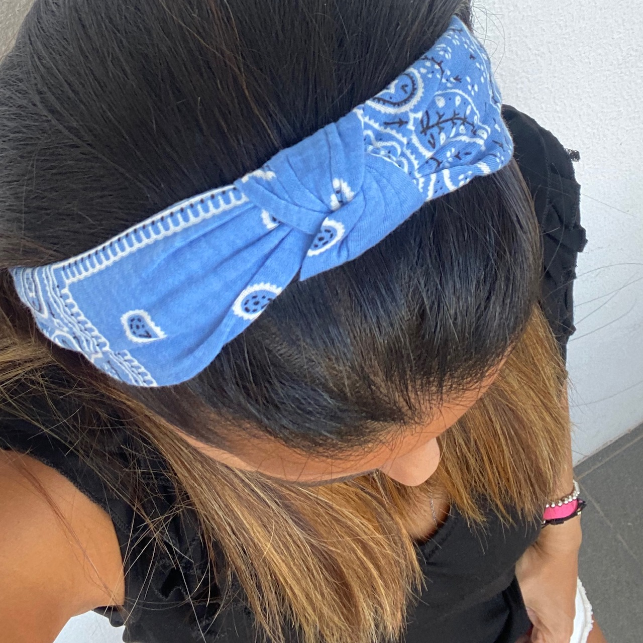 Bandolete | Cornucópias Azul Claro
