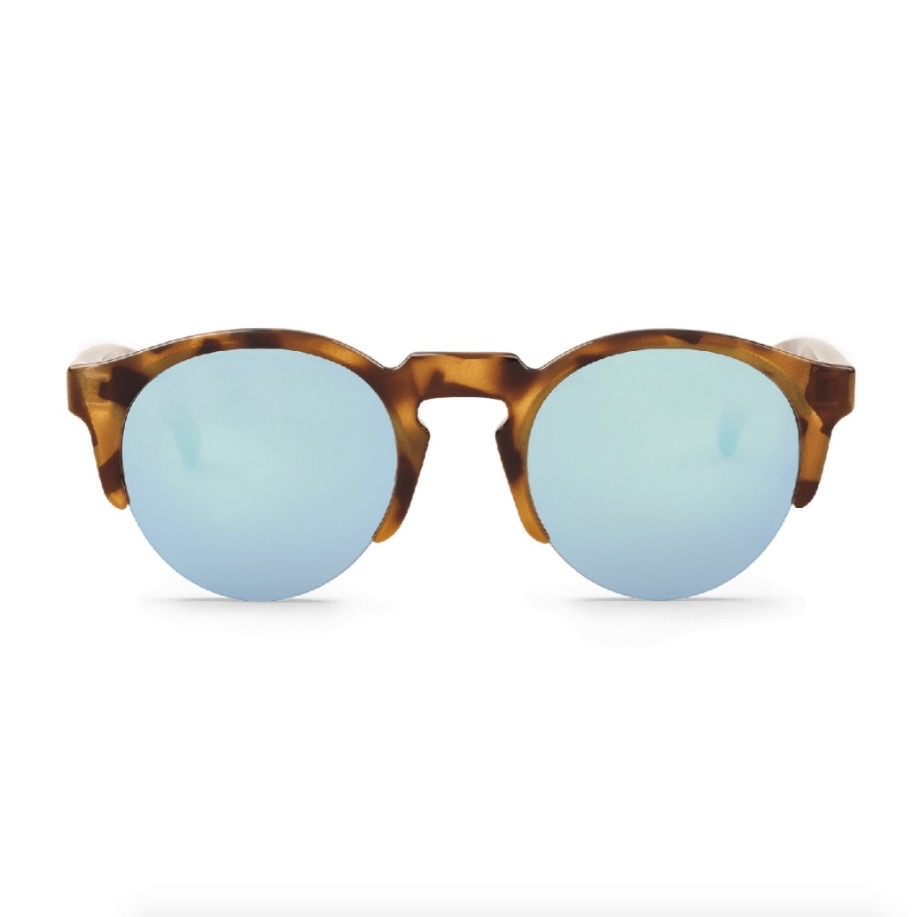 BORN | HC TORTOISE with sky blue lenses