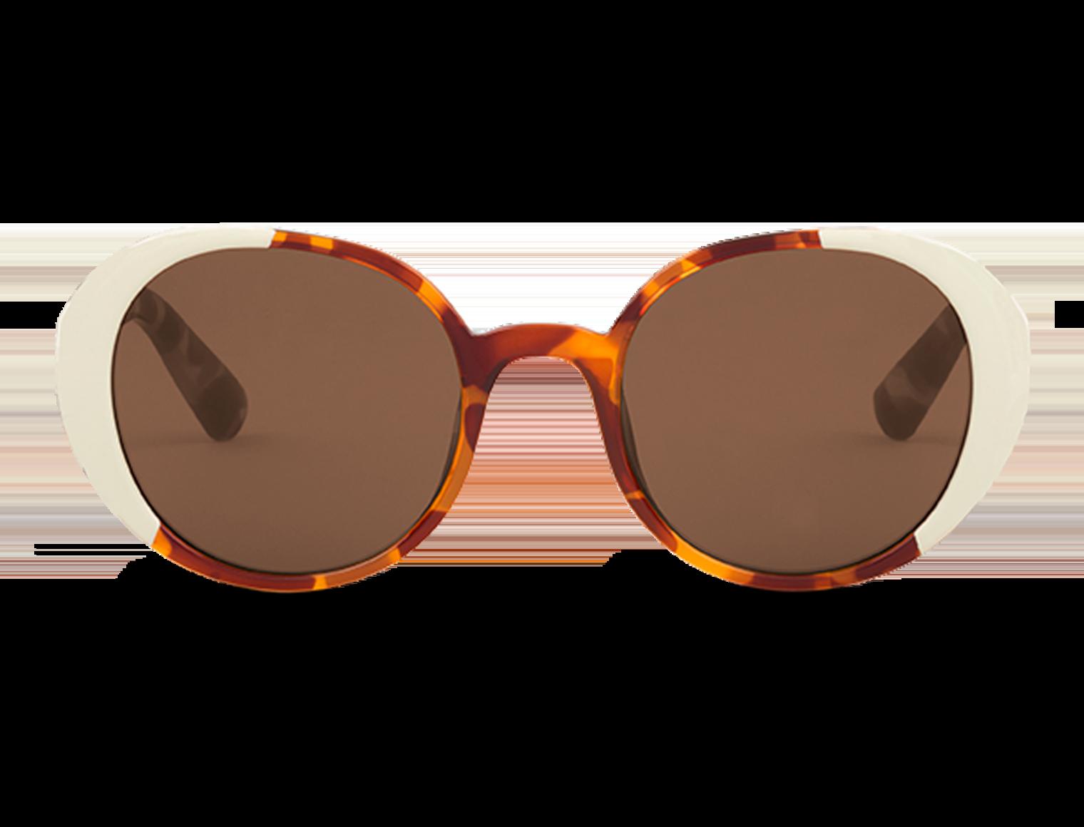 ARROIOS | CREAM/LEO TORTOISE with classical lenses