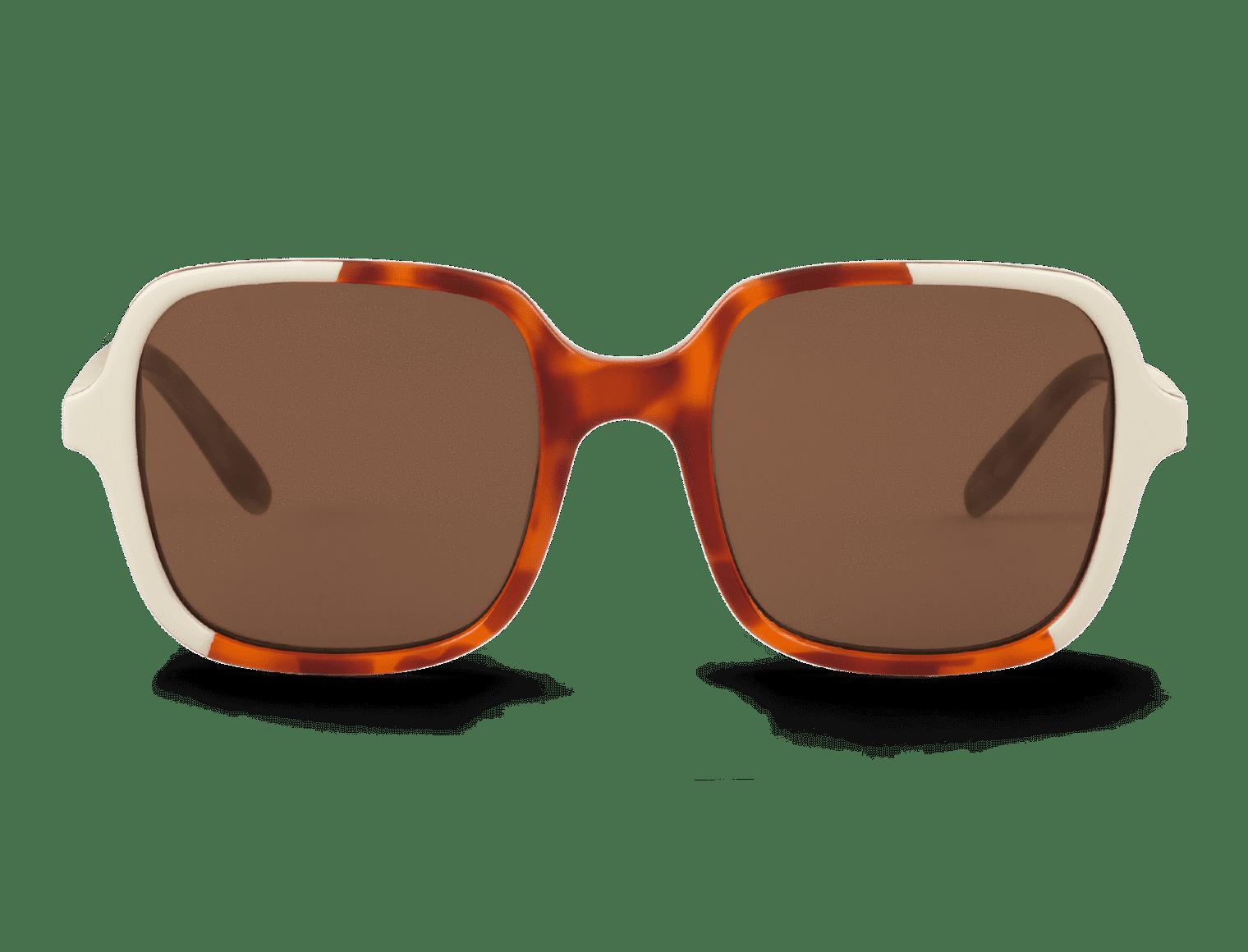 BELLEVILLE | CREAM/LEO TORTOISE with classical lenses