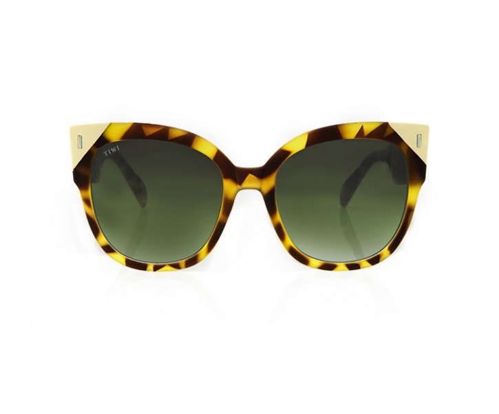 BIELA | RUBBER BUTTERFLY WITH GREEN LENSES