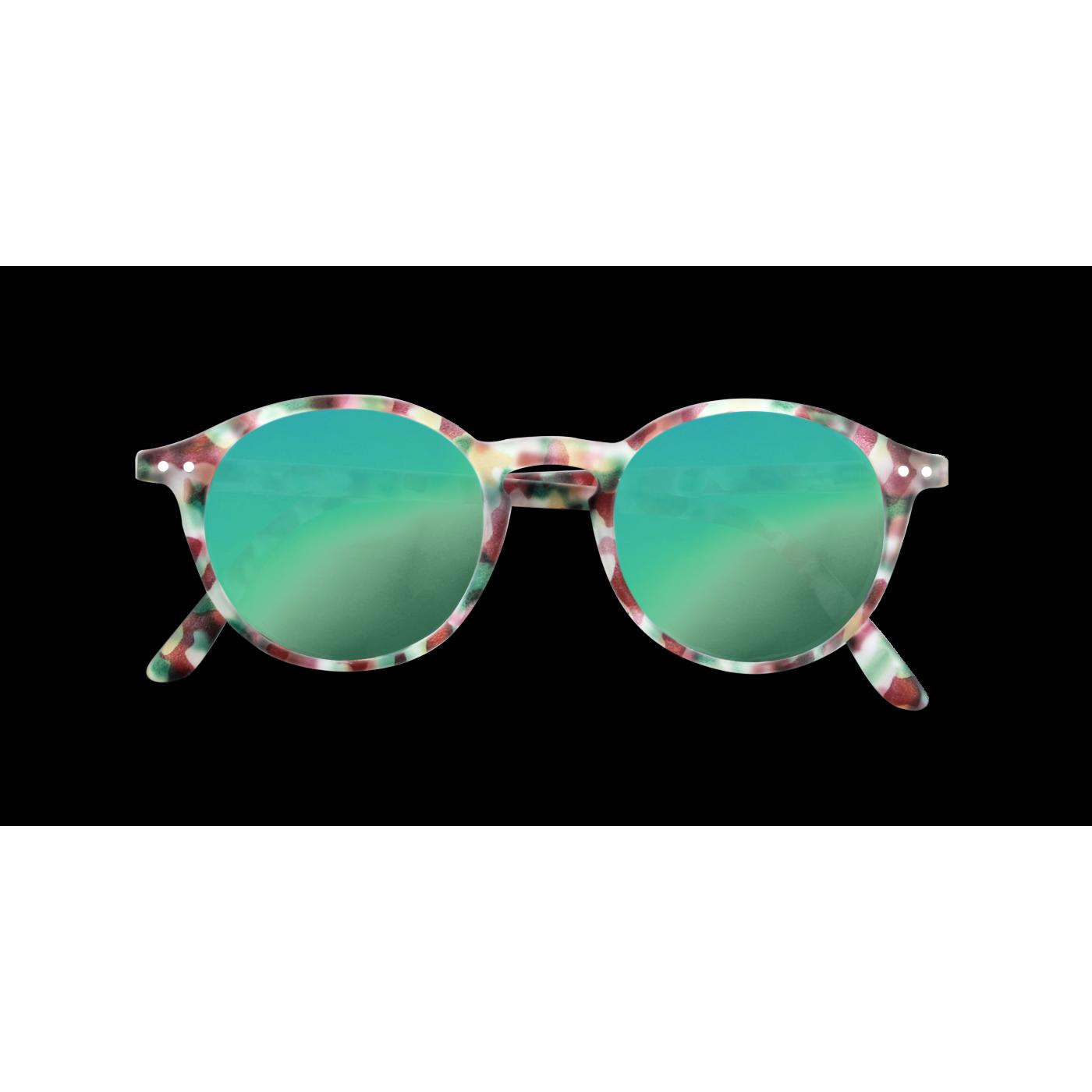 SUN JUNIOR #D Green Tortoise Mirror