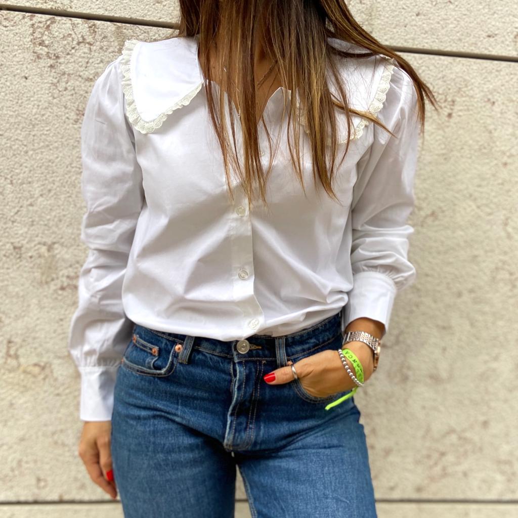 Camisa Branca Gola XL