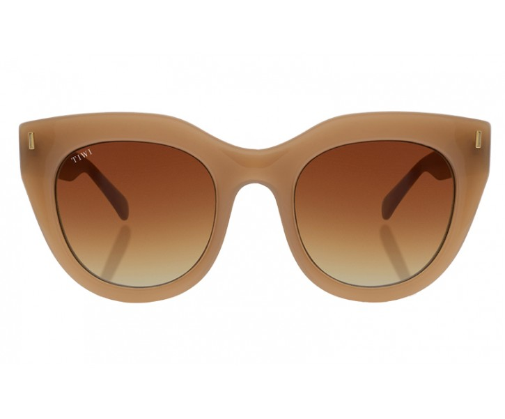 ROSETTA | SHINY COCONUT WITH BROWN GRADIENT LENSES