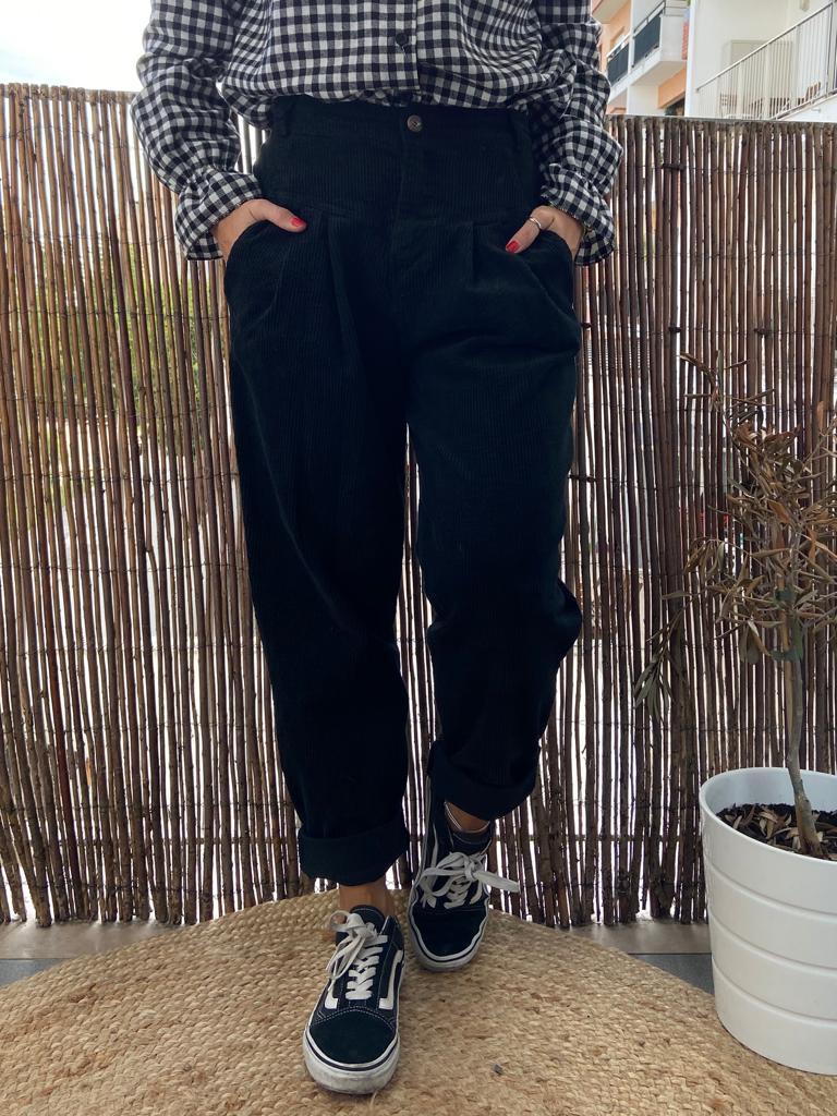 Calças Bombazine | Preto