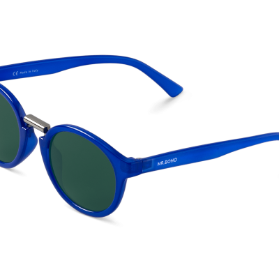 FITZROY | BLUE with classical lenses