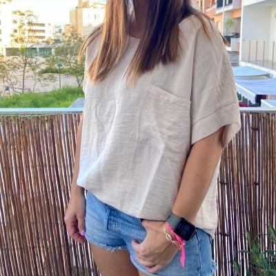 T-Shirt Bolso XL | Preto