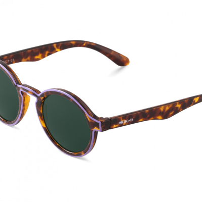 CONTOUR LILAC/CHEETAH TORTOISE DALSTON WITH CLASSICAL LENSES