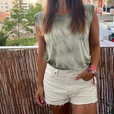 T-Shirt Tie-Dye | Kaki
