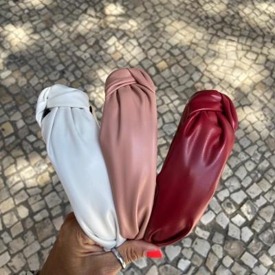 Bandolete Cabedal | Branco