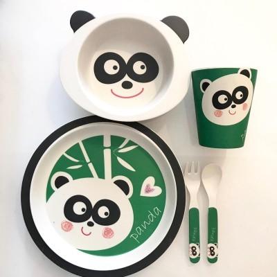 Conjunto Bamboo (5 peças) | Leão