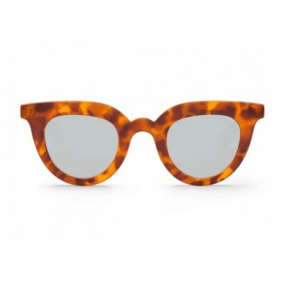 LEO TORTOISE HAYES WITH SILVER LENSES