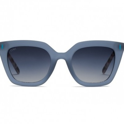 HALE | RUBBER BLUE WITH GRADIENT LENSES