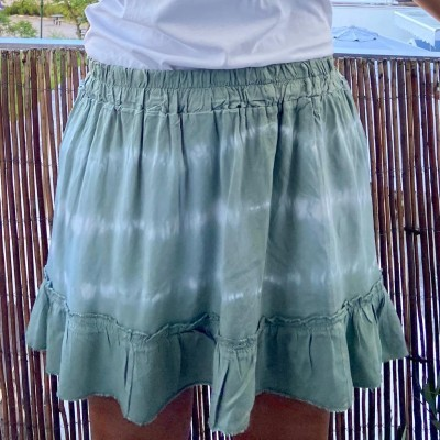 Saia Tie-Dye | Verde