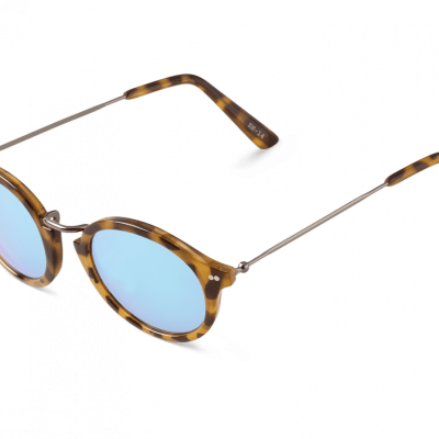 HC TORTOISE NORREBRO WITH SKY BLUE LENSES