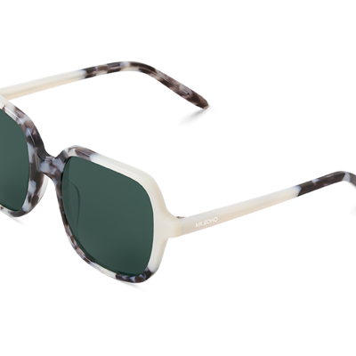 BELLEVILLE | CREAM/ASH with classical lenses
